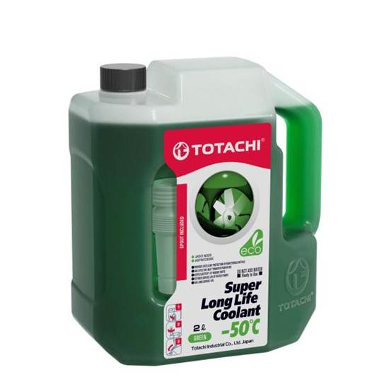 Антифриз TOTACHI SUPER LLC -50 ЗЕЛЕНЫЙ 2Л